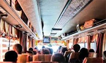 Perjalanan Wisata Menggunakan Bus Umum