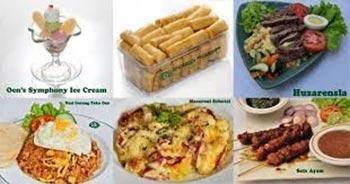 menu masakan Toko OEN