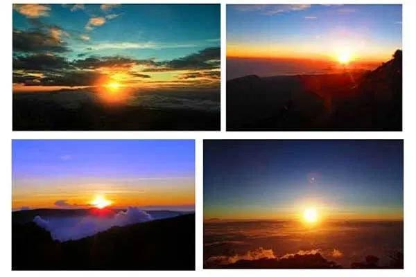 Pemandangan Sunrise Terbaik