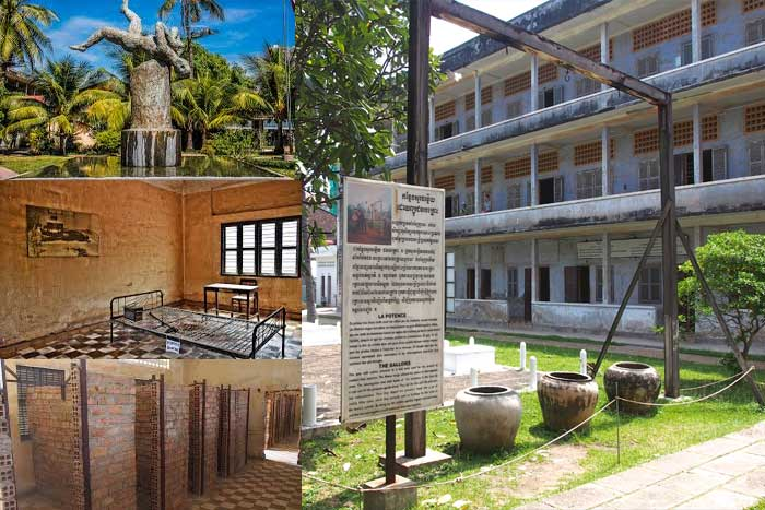 Museum The Tuol Sleng Genocide Kamboja