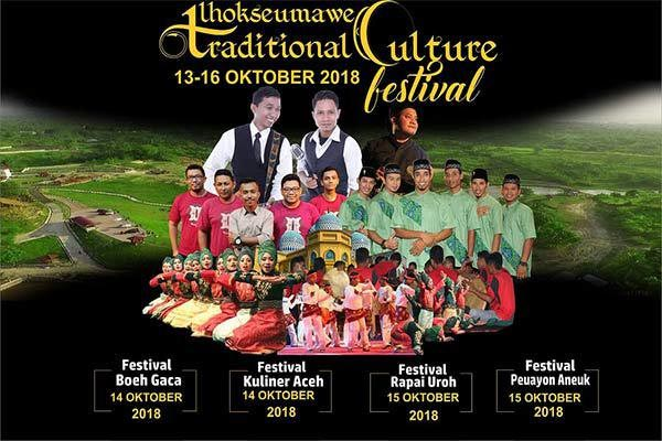 Lhokseumawe Traditional Culture Festival 2018