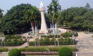 War Memorial Park Cu Chi Tunnels Saigon Vietnam