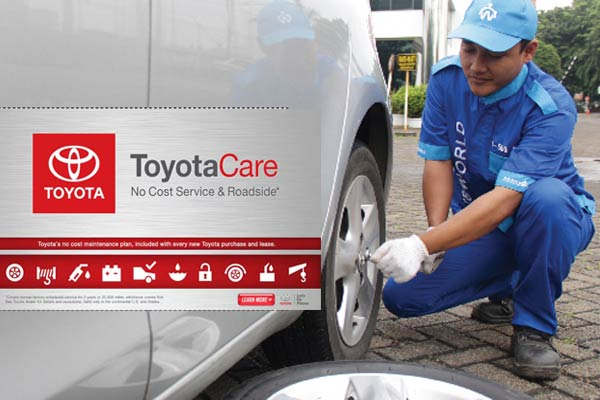 Roadside Assistance Toyota