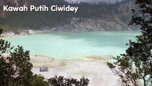 Kawah Putih di Ciwidey